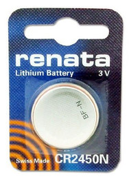 Renata CR2450N Battery - 3 Volt 540mAh Lithium Coin Cell
