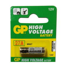 GP 27A - GP27A 12V Battery - High Voltage (100 Pack)