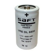 VRE DL - 417990-101 Saft Battery - 1.2V 5500mah D NiCd Low Profile Button