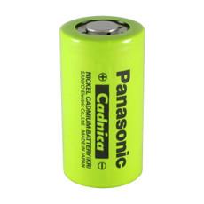 Panasonic N-3000CR C Cell NiCd Battery - 1.2 Volt 3000mAh Flat Top