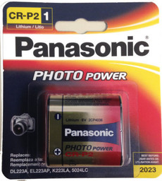 Panasonic CR-P2 Battery - Rep. DL223A, EL223LP, KL223LA, 5024LC