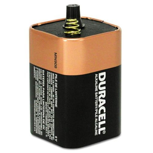 Mn908 6v Duracell Coppertop Battery 6 Volt Lantern
