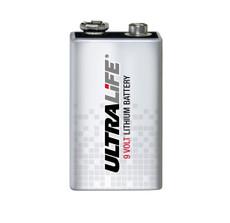 U9VL-J-P - Ultralife 9 Volt Lithium Battery-9V-U9VLJPBK