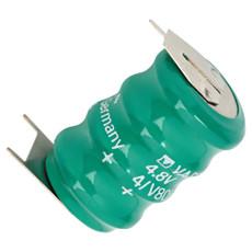 Varta 4/V80H-3P 55608304059 Battery - 4.8 Volt 80mAh NiMH Pack