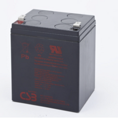 CSB HR1227W F2 Battery - 12 Volt 6.0 AH Sealed Lead Acid Rechargeable