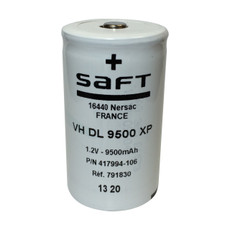 Saft VH DL 9500 XP - 417994-106 Ni-MH D Cell Battery 1.2V 9500mAh