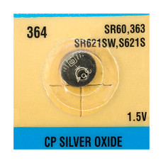Evergreen SR621SW, 364 Watch Battery