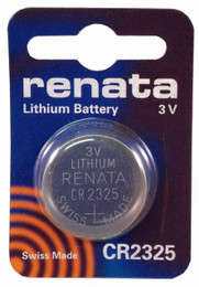 Renata CR2325 3V Lithium Battery - 3 Volts 190mAh Coin Cell