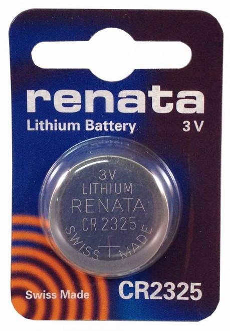 Renata CR2325 3V Lithium Battery - 3 Volts 190mAh Coin Cell