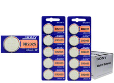 Sony CR2025 3V Lithium Coin Cell Battery