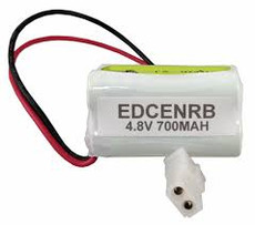 Prescolite EDCENRB Battery - 4.8 Volt 700mAh NiCd with Connector