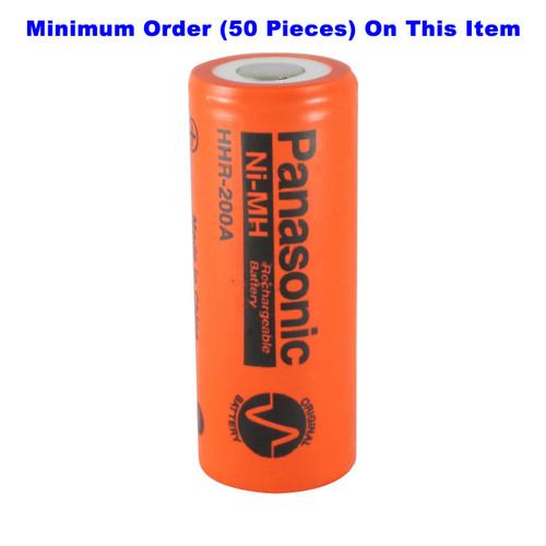 Panasonic HHR-200A 4/5A Ni-MH Battery - 1.2 Volt 2000mAh Flat Top