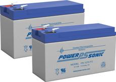APC SMART UPS 450  Replacement  Batteries ( 2 ) 12v 7Ah F2 Batteries