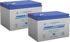 APC RBC6 Replacement Batteries ( 2 ) 12v 12Ah Batteries