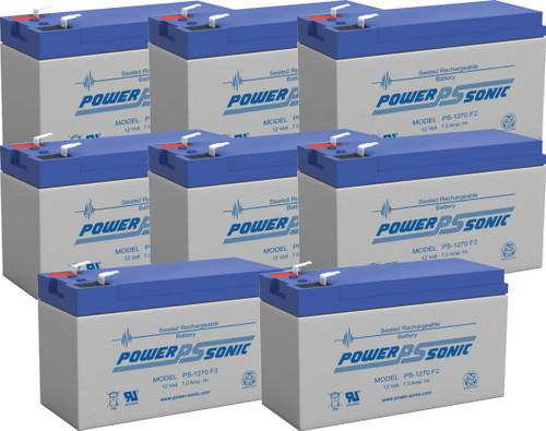 APC Smart-UPS 5000RMT5U Battery Replacement (8 Pieces)