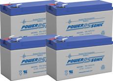 APC RBC25 - Cartridge #25 UPS Backup Battery Replacement (4 Pieces)