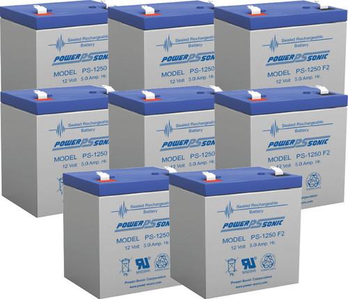 APC RBC36 - Cartridge #36 UPS Backup Battery Replacement (8 Pieces)