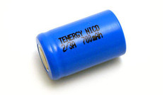 Tenergy 2/3A Ni-Cd Battery - # 20202 - 1.2 Volt 700mAh