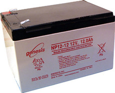 Enersys / Genesis NP12-12 Battery - 12V 12Ah SLA
