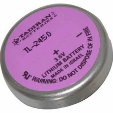 Tadiran TL-2450 - TL-2450/P Battery - 3.6V Lithium Bel Wafer