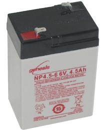 Genesis NP4.5-6 Battery 6V 4.5 Ah by Enersys
