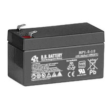 B.B. Battery BP1.2-12 - 12V 1.2Ah AGM - VRLA Rechargeable Battery