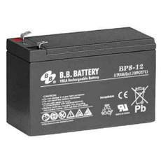 "B.B. Battery BP8-12 (.250"") - 12V 8Ah AGM - VRLA Rechargeable Battery"