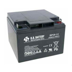 "B.B. Battery BP28-12 (.250"") - 12V 28Ah AGM - VRLA Rechargeable Battery"