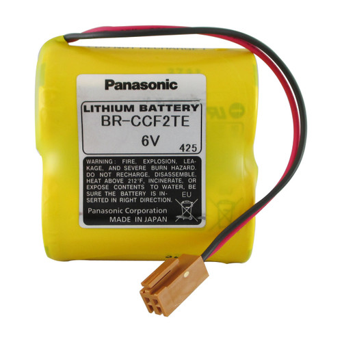 BR-CCF2TE Battery for GE Fanuc - Panasonic