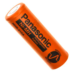 Panasonic HHR-210A A Cell Ni-MH Battery - 1.2 Volt 2200mAh Flat Top