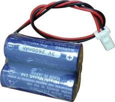 Mazak Relocation Detector Battery - 2CR17450 (3V) CR17450 w/RD0296-1