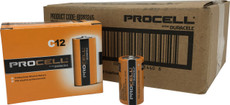 Duracell Industrial C Cell Batteries - LR14 - ID1400 - Case of 72