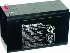 LC-R127R2P Panasonic Battery - 12V 7.2Ah Sealed Lead Rechargeable