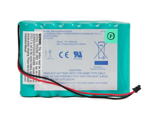 Great Power 6PH-H-4/3A3600-S-D22 Battery for Security Alarm Panel