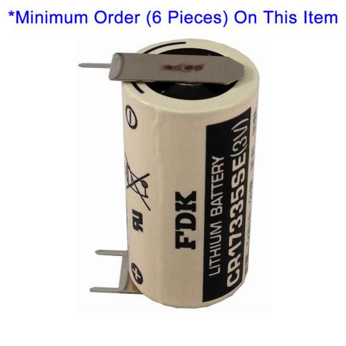 FDK CR17335SE-FT 3V Lithium Battery - 3 Volt 1800mAh 3 PC Pins
