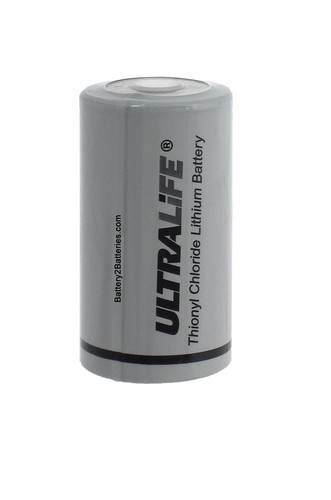 Ultralife ER26500 Battery - 3.6V C Cell Lithium