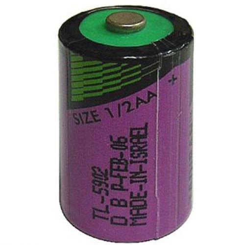 Tadiran TL-5902 - TL-5902/S Battery - 3.6V 1200mAh 1/2AA Lithium