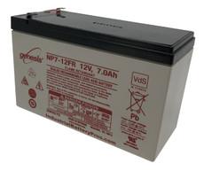 "Copy of Enersys Genesis NP7-12FR Battery - 12V 7.0AH (.187"") Flame Retardant"