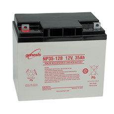 Enersys - Genesis NP35-12B Battery - 12 Volt 35 Amp Hour