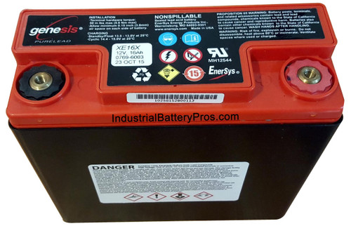 Genesis XE16X Battery by Enersys