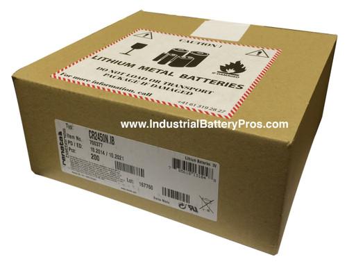 Renata CR2450N Battery (200 Pieces)