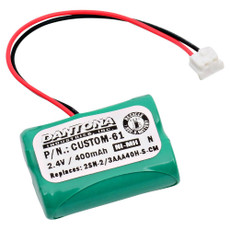 Dantona Custom-61 Battery Replacement for Restaurant Pager