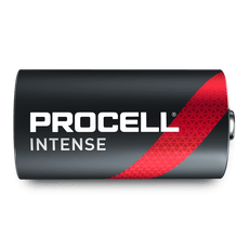 Duracell Procell Intense Power PX1300 D Batteries (Case of 72)
