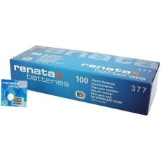 Renata 377 - SR626SW Battery - 100 Pieces