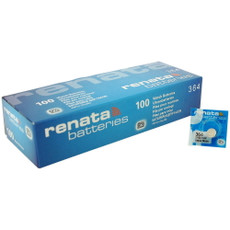 Renata 364 - SR621SW Battery - 100 Pieces