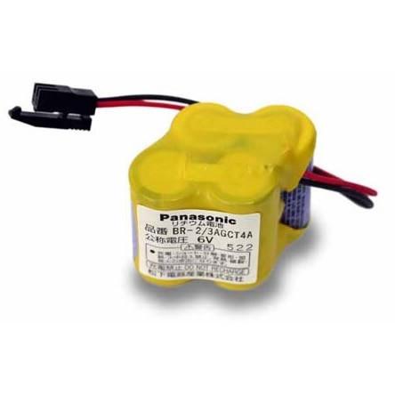 Panasonic BR-2/3AGCT4A Battery PLC Logic Controls (Black Clip Connector)