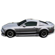 2005-2009 Ford Mustang CC side skirts