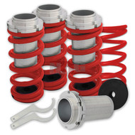1996-2000 Honda Civic Red Coil over