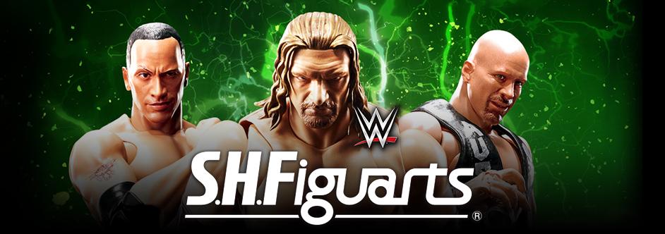 WWE x Bandai S.H. Figuarts Action Figure