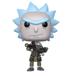 Weaponized Rick: Funko POP! Animation x Rick & Morty Vinyl Figure